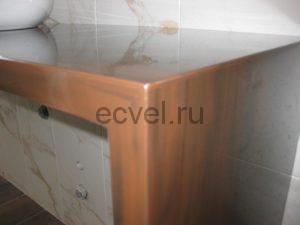 Стол на кухне из искусственного акрилового камня Тюмень